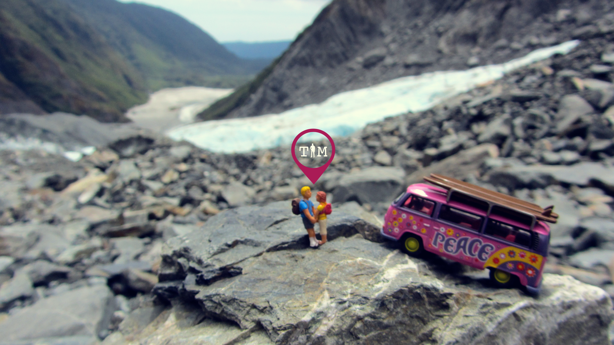 traveling in miniature