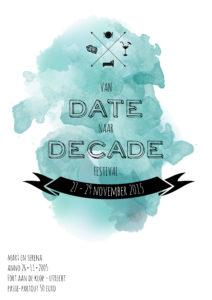 uitnodiging festival date naar decade